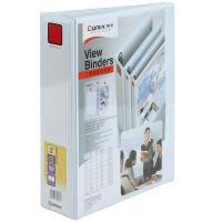 齐心文具A235三面插袋文件夹/三孔D型3寸文件夹/白夹