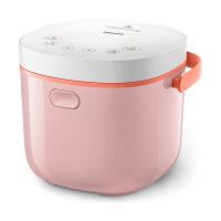 飞利浦(Philips)电饭煲 智能可预约定时功能立体式加热家用多功能做酸奶 2-3人 2L迷你电饭煲HD3070/00