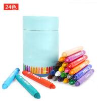 儿童蜡笔幼儿套装画画笔宝宝画笔可水洗涂鸦油画棒24色