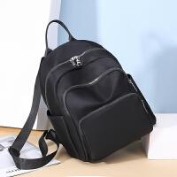 女士牛津布帆布时尚百搭书包旅行包包2019新款韩版女士双肩包小背包