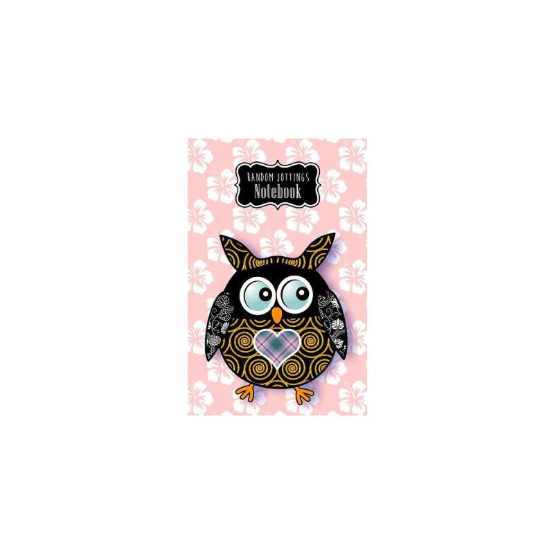 """预订 Random Jottings Notebook- """"Prudence"""": A Patchwork Owl [ISBN:9781533440082] 美国发货无法退货 约五到八周到货"""