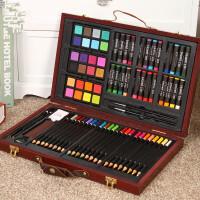 套装儿童绘画工具箱美术用品画笔彩铅笔蜡笔礼盒文具儿童礼物彩笔