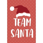 预订 Team Santa: Notebook Journal Composition Blank Lined Dia