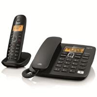 西门子 集怡嘉 A280 套机 子母机 数字无绳电话 电话机 绅士黑