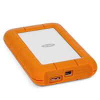 LaCie莱斯 1T Rugged 移动硬盘 1TB USB3.0雷电2 第二代 STEV1000400 雷电+USB