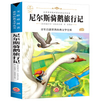 尼尔斯骑鹅旅行记(新版)中小学生三四五六七年级课外书籍无障碍阅读名著儿童文学青少年读物故事书