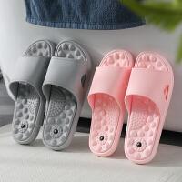 泰蜜熊带磁按摩一体成型全新料情侣款厚底防滑夏季凉拖鞋浴室防滑洗澡拖鞋