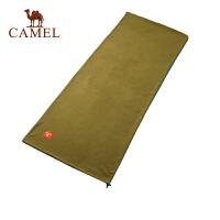 camel骆驼户外抓绒成人睡袋 新款野营露营必备用品