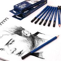 中华111铅笔 中华绘画铅笔 8B 10B 12B木制铅笔 中华牌绘图铅笔 素描考试铅笔