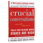 预售 英文原版 Crucial Conversations Tools for Talking When Stakes