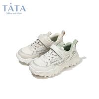 【券后价:141.7元】他她Tata童鞋儿童网面运动鞋秋季透气轻便休闲鞋儿童老爹鞋