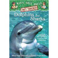 神奇树屋 英文原版 Dolphins and Sharks: Magic Tree House Research Gu