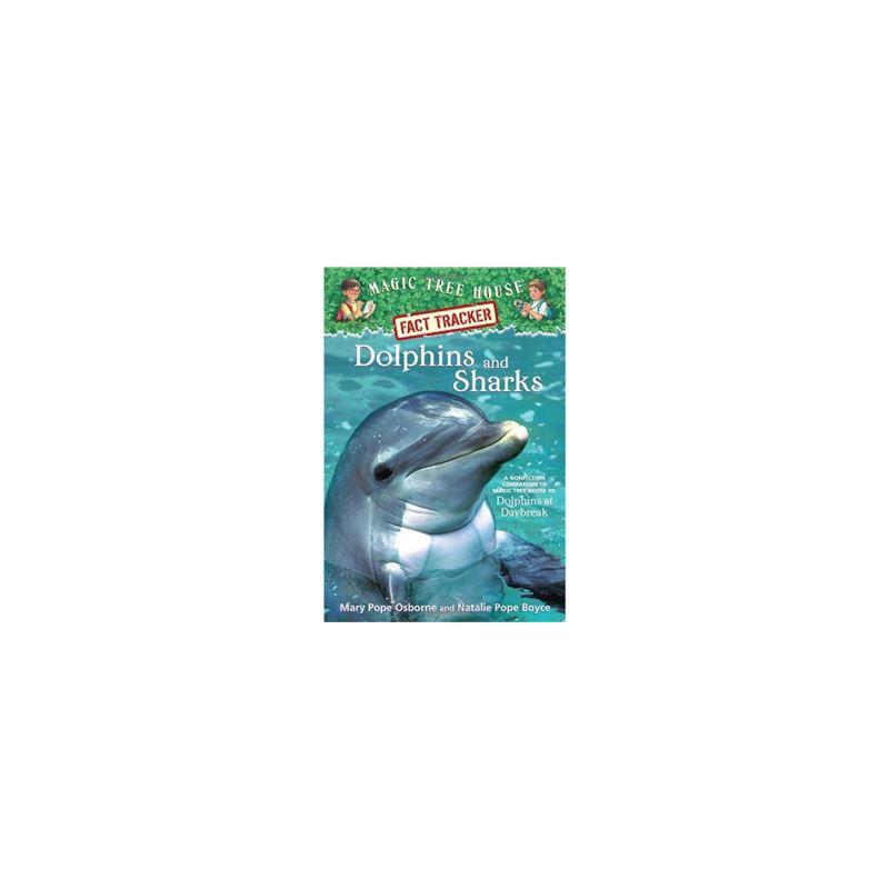神奇树屋 英文原版 Dolphins and Sharks: Magic Tree House Research Guide