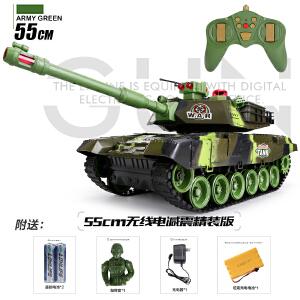 【满200减100】活石 儿童玩具仿真军事坦克模型 亲子多款同时对战遥控坦克汽车玩具节日礼物