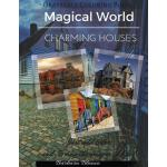 预订 Charming Houses: Grayscale Coloring Book [ISBN:978153682
