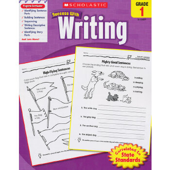 Scholastic Success with Writing: Grade 1 学乐必赢阅读:1年级写作 ISBN9780545200790