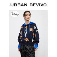 【米老鼠和朋友们】UR2020冬季新品女装毛衣针织T恤YV40R9BN2004