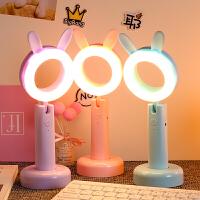 LED台灯护眼学习USB可充电迷你卧室床头大学生书桌宿舍写字小夜灯