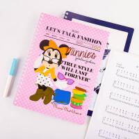 广博(GuangBo)20页A4线圈资料册/文件册/学习用品 颜色随机迪士尼 单个装IMQ97201