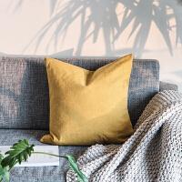 简约现代风水洗抱枕床上靠垫家居休闲沙发靠垫纯色靠枕护腰垫