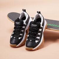 【*注意鞋码对应内长】Skechers斯凯奇男鞋D'LITES复古熊猫鞋老爹鞋户外鞋小白鞋 999120
