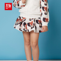 季季乐童装春款女童短裙休闲儿童半身裙GCQ63029