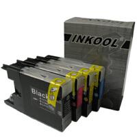 INKOOL适用兄弟MFC-J6510DW/J6710DW/J6910墨盒 LC400墨盒一套