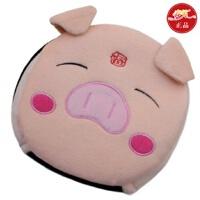 春笑 USB暖手鼠标垫/保暖发热鼠标垫 加热 USB暖手宝 带护腕(福猪)T2102