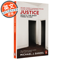 公正 英文原版 Justice: What's the Right Thing to Do? 该如何做是好 Michael Sandel 迈克尔桑德尔 进口书 哲学 平装 Paperback