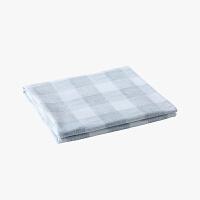 当当优品床单 纯棉200T加密斜纹双人加大240x250cm床单 锦尚(灰)