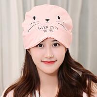 时尚产后用品坐月子帽秋冬季孕妇产妇帽子头巾发带