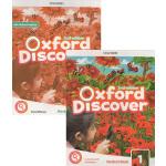 新版 Oxford Discover Level 1 牛津探索发现 小学英语教材套装 学生用书 主教材+练习册 附配套