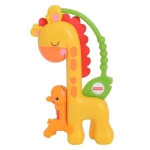 [当当自营]Fisher Price 费雪 长颈鹿滑动摇铃 益智早教玩具 CGR92