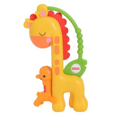 [当当自营]Fisher Price 费雪 长颈鹿滑动摇铃 益智早教玩具 CGR92【当当自营】适合3个月以上婴幼儿