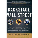 BACKSTAGE WALL STREET: AN INSIDERS GUID(ISBN=9780071782326) 英文原版