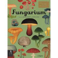 英文原版 真菌博物馆(欢迎来到博物馆系列)手绘科普读物 精装大开本 Fungarium (Welcome To The