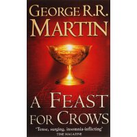 英文原版A Feast for Crows (A Song of Ice and Fire, Book 4),群鸦的盛宴(冰与火之歌4),平装,ISBN=9780006486121