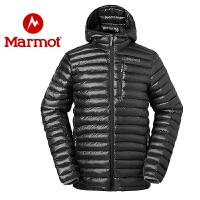 Marmot/土拨鼠男式质感轻薄拒水保暖棉服
