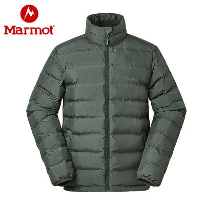 Marmot/土拨鼠户外防风防泼水男士保暖舒适面包棉服