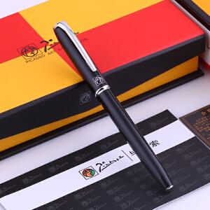 毕加索(pimio)钢笔 916马拉加系列0.5mm铱金笔钢笔墨水笔男女商务办公学生练字一体设计黄铜笔身钢琴烤漆免费刻字