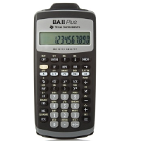 【可带进考场】德州仪器TI BA II plus金融计算器 CFA/CFP/FRM/SOA/RFP考试