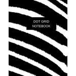预订 Dot Grid Notebook: Zebra Cover - 180 Pages (Dot Paper) (