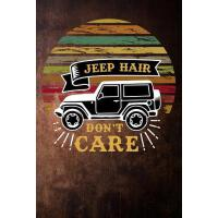 预订 jeep hair dont care: camping adventure funny Lined Noteb