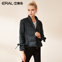 ERAL/艾莱依2018新款时尚小A型短款羽绒服女外套617062020