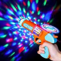 儿童电动枪2-3岁1宝宝带声音手枪小孩迷你音乐声光小手抢男孩玩具