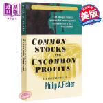 【中商原版】普通股票与非一般收益及其它著作 英文原版 Common Stocks and Uncommon Profi