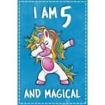 预订 Unicorn B Day: I am 5 & Magical Unicorn birthday five Ye