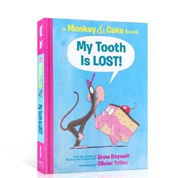 英文原版绘本 My Tooth Is LOST!我的牙掉了! Monkey and Cake猴子和蛋糕系列 儿童英语启蒙早教趣味图画故事书 3-6岁想象力培养