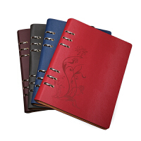 创意活页本文具硬面抄笔记本镂空本册记事本子商务日记本定制logo
