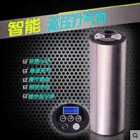 自行车智能打气筒摩托车汽车高压充电型充气泵可预设胎压充